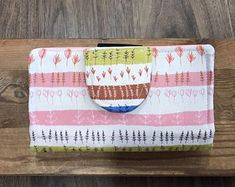 Your place to buy and sell all things handmade Diy Cash Envelope Wallet, Cash Envelope System, Cash Envelopes, Paper Envelopes, Dave Ramsey Envelope System, Cute Wallets, Floral Clutches, Feather, Cards