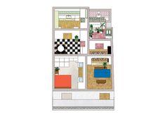Mosaic Apartment   Point Supreme Architects