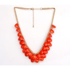 Necklace N - 0235 - RD - Online Shopping for Necklaces by Hi Look