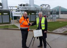 The First Minister of Wales, Carwyn Jones, opened Agrivert's 50,000 tonnes-per-year #anaerobic digestion plant in his Bridgend constituency on Friday (2 December), describing the facility as a major boost to the region. #AD