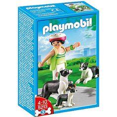 Idée de cadeau pour les enfants : Playmobil Border Collie – 5213