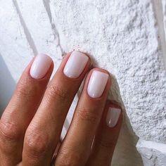 Short milky nails for May - Short milky nails for May - # for . - Short milky nails for May – Short milky nails for May – - Perfect Nails, Gorgeous Nails, Pretty Nails, Neutral Nails, Nude Nails, White Nails, White Nail Polish, Pink Shellac Nails, Yellow Nail