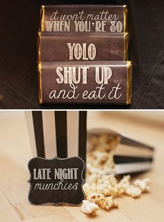 High Style Black & Gold Birthday Party