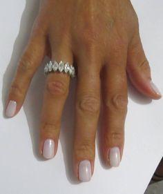 Marquise Cut Diamond Platinum Eternity Band Ring image 5