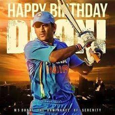 Happy Birthday MS DHONI #MSDhoni #Thala #MSD #HappyBirthdayMSDhoni #CSK #Cricket #India #ChennaiSuperKings