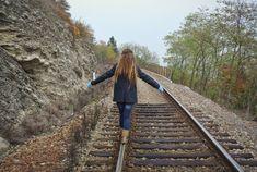 Walking towards the train #dreadlocks