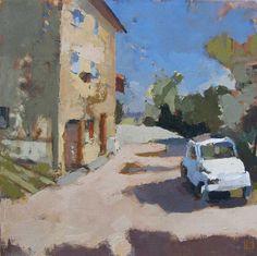 Lucy MacGillis: an artist in Umbria