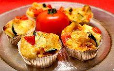Herzhafte Low Carb Gemüse-Muffins