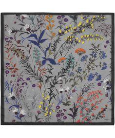 liberty- What a great idea- framed beautiful scarfs Textiles, Textile Patterns, Print Patterns, Pocket Squares, Liberty Scarf, Bandanas, Motif Floral, Scarf Design, Liberty Print