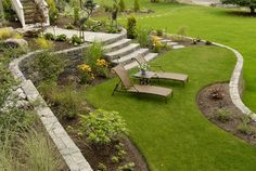 Riverfront Terraced Garden | Wagner Design Group