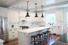 kitchen remodel reveal, home improvement, kitchen design - one of the best before and after renovations I've ever seen. the difference is amazing.