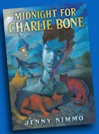 Charlie Bone books--especially the books on tape with an English accent