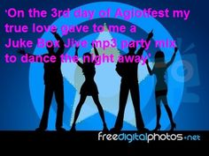 On The 3rd day of Agiotfest my true love gave to me a Juke Box Jive mp3 party mix to dance the night away