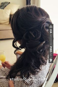 Like this - Side Swept Wedding Hair Side swept wedding hair. Studiomariepierre   CHECK OUT THESE OTHER TO DIE FOR PHOTOS OF NEW Side Swept Wedding Hair HERE AT WEDDINGPINS.NET   #sidesweptweddinghair #sideswepthair #weddinghairstyles #weddinghair #hair #stylesforlonghair #hairstyles #hair #boda #weddings #weddinginvitations #vows #tradition #nontraditional #events #forweddings #iloveweddings #romance #beauty #planners #fashion #weddingphotos #weddingpictures