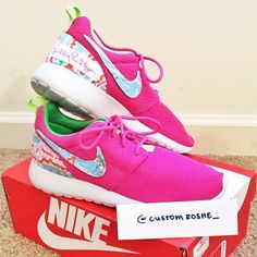 Lilly Pulitzer Custom Nike Roshe Runs by GetCustomRosheRuns