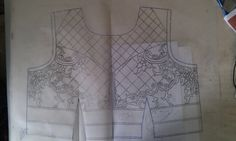 Designer khaka for gown