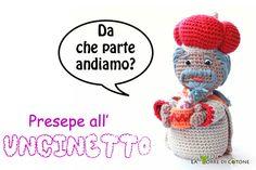 Presentazione nuovo personaggio #presepe #amigurumi : Re Magio Baldassarre #uncinetto #crochet #nativity