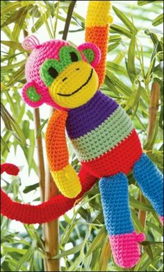 Striped monkey