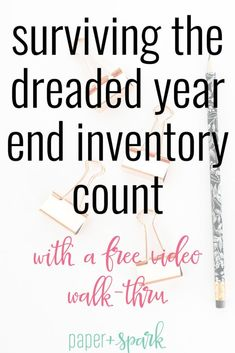 When it comes to running an Etsy shop there are a few things we as makers have to do. That includes inventory management and counting your etsy shop products. Here is a guide to surviving the year end inventory count for online shop owners and makers. Craft Business, Business Tips, Online Business, Creative Business, Business Coaching, Inventory Management, Management Tips, Business Management, Starting An Etsy Business