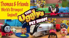 Thomas & Friends Ugglys Pet Shop Trackmaster World's Strongest Engine