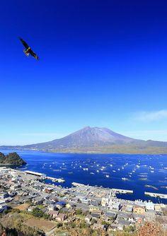 BEEN. Kagoshima was the first city I ever visited in Japan. I love volcanos! Sakurajima Volcano, Kagoshima, Japan