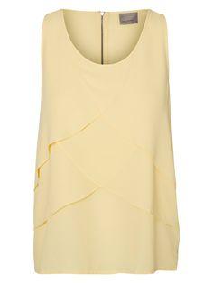 Feminine sleeveless top from VERO MODA.