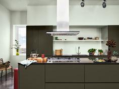 Dulux Kitchen Paint, Dulux Paint, Trending Paint Colors, Interior Design Advice, Interior Inspiration, Diy Kitchen, Color Trends, Beautiful Homes, Furniture