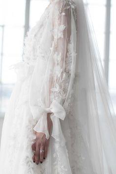 Marchesa Bridal Fashion Trends via Cool Chic Style Fashion / Photo: The LANE