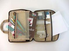 A Palette Full of Blessings: Art travel kit Bag
