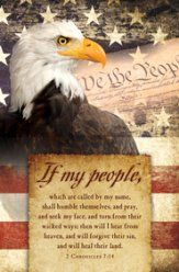 If My People (2 Chronicles 7:14) Bulletins, 100