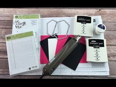 Stampin' Up! Chalkboard Technique with Layering Love & Writing Notes Card - Episode 539 - YouTube