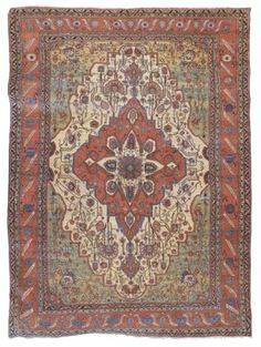 KASHAN 'MOHTASHAM' CARPET  CENTRAL PERSIA, CIRCA 1880  A few small areas of light wear and corrosion, selvages frayed, overall very good condition 13ft.7in. x 9ft.8in. (414cm. x 294cm.)