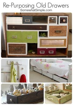 Repurposing Old Drawers