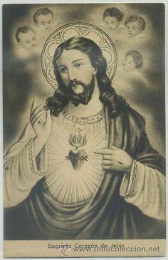 POSTAL RELIGIOSA. SAGRADO CORAZON DE JESUS P-REL-365,10