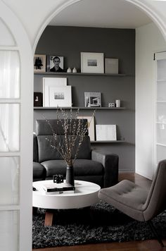 west elm - Monochrome Modern LA Home
