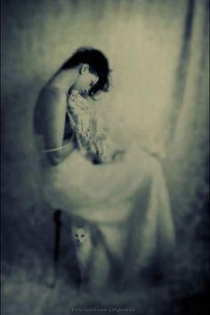 ☽ Dream Within a Dream ☾ Misty Blurred Art  Fashion Photography - Calm by Marta Orlowska.
