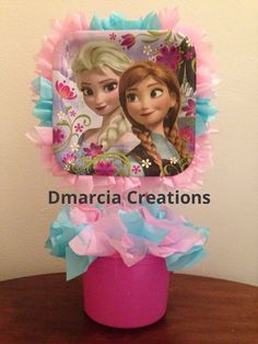Disney Frozen Centerpiece by DMarciaCreations on Etsy, $7.99