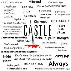 Words from Castle
