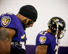 Ray Lewis and Ray Rice