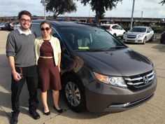 #PremierHonda of #NewOrleans is proud to add Miss Leah Doyle as a new member to our Family. Miss Doyle purchased a new #Honda #Odyssey from Taylor Thornton. Shop online at www.premierhonda.com or give us a ring at (504) 245-1777 if you're shopping for a new or quality pre-owned vehicle.