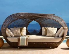 Cool outside furniture via The Interiors on Facebook