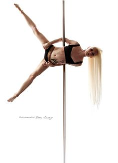 "Pole Picture of the Day: Becca Buck ""Batwing"" Photography by Photography