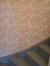 Portaikko (kuva: Rintamamiestalo Turussa 2012) tapettitalo ritola akaa