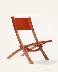 Hand made folding chair