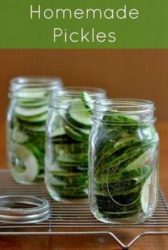 homemade pickle recipe.