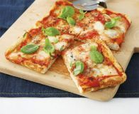 Very simple Margherita pizza