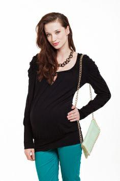 Bluzka ciążowa JASMIN/Maternity blouse JASMIN http://maternity24.pl/pl/p/Tunika-ciazowa-JASMIN-/1357