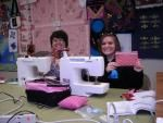Karen and Bridget learn to sew at Jenny's Sewing Studio in Salisbury, MD  http://www.jennys-sewing-studio.com/index.php/instructional-sewing/sewing-classes.html