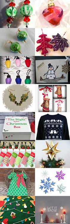 Christmas Shopping List by Jo Stamatakis on Etsy--Pinned with TreasuryPin.com  #holidaygifts