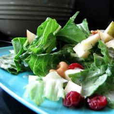 Winter Fruit Salad with Lemon Poppyseed Dressing